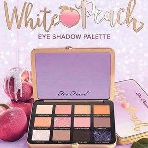BNIB Too Faced White Peach Eyeshadow Palette